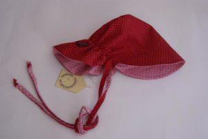 Yaantje mit Nackenschutz rot